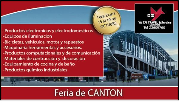 feria canton 1 ETAPA